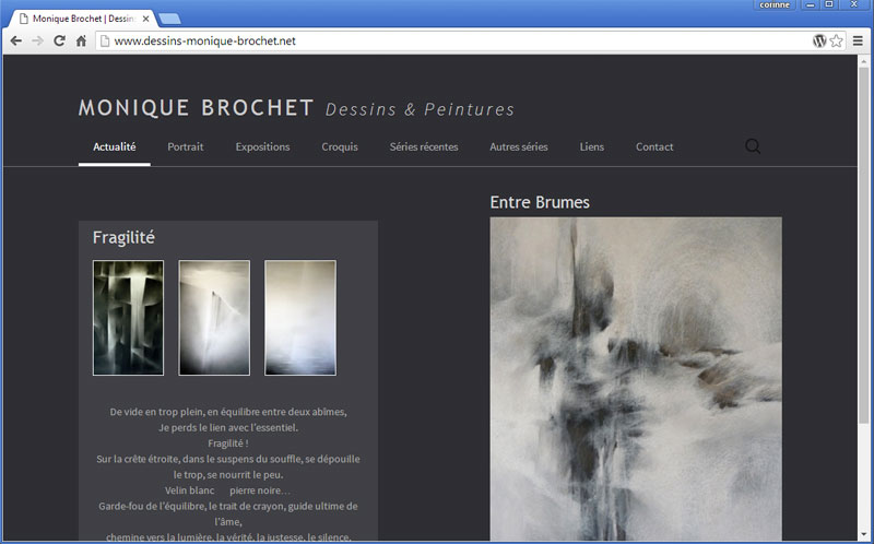 Monique Brochet - dessins & peintures