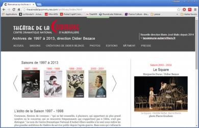 Théâtre de la commune - Archives